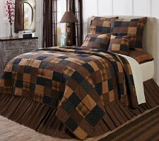4PC Patriotic Patch Quilt Set - Quilted Bedding Set VHC Brands - SELECT ANY SIZE