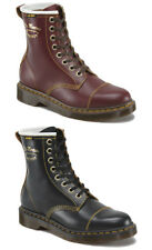 Dr Martens Capper Vintage 1460Z 8 Eye in Black or Cherry Red Leather Boots