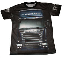 Scania Truck- Sided All Over Sublimation Print T-Shirt