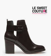 STRADIVARIUS (zara company) HIGH HEEL CUT OUT ANKLE BOOTS AW14/15 R.19310341