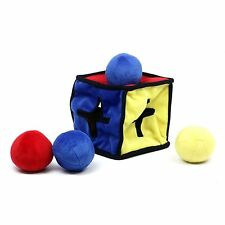 IQUBE for Dog Rubik's Cube for Dogs Plush Colorful Puzzle Toy That Squeaks