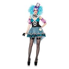 Mad Hatter Costume Women Sexy Adult Halloween Fancy Dress