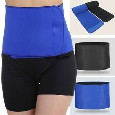 Waist Trimmer Exercise Belt Slim Burn Fat Sauna Sweat Weight Loss Body Health