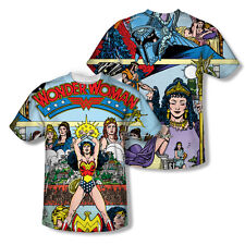 Justice League - Wonder Woman - #1 Cover -- All-Over Front & Back Print T-Shirt