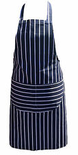 Chefs Apron Quality cotton Butchers Kitchen Cooks Restaurant BBQ Pub bar