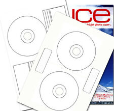 ICE Gloss CD / DVD Labels Inline or Offset, Neato or PressIt Style