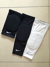 ONE PAIR Basketball Combat Pad Compression Leg Knee Long Sleeve Size M L XL