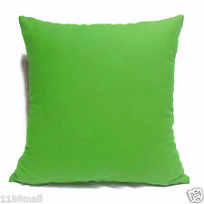 ccc-a21 BUD GREEN High Quality Cotton Canvas Cushion/Pillow Cover Custom Size