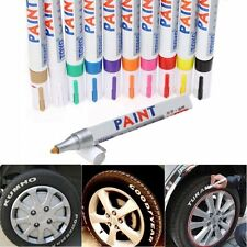 Permanent Paint Marker Pen Tire Rubber Metal Glass Wood Stone Waterproof Oil Pen