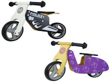 Nicko Mini Wooden Balance Bikes Boys & Girls suitable for 18 months - 3 years
