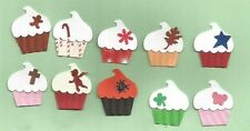 55 Cupcake Punch Valentine St Pat Easter Spring 4th Fall Halloween Christmas