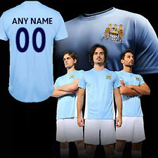 Manchester City FC Official Performance T-Shirt -  Personalised Name & Number