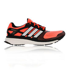 Adidas Energy Boost 2 ESP Mens Red Cushioned Breathable Road Running Shoes New