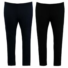 Ladies Womens Plus Size Jeggings Stretch Full Length Jeans Leggings Denim Look