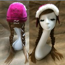HA15 movie Frozen Anna Custom Cosplay Costume Snow Queen emboidery hat furry