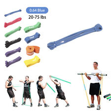 Heavy Duty Resistance Band Set Strength Gym Fitness Exercise Workout 10 Level