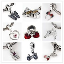 925 Sterling Silver Mix&Match Series Pendant Fit European Charm Bracelets AN