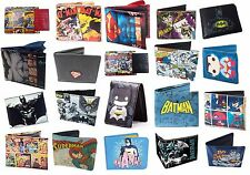 DC Comics Bi Fold Wallet - New + Official Batman / Superman