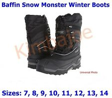 NEW Baffin Snow Monster Winter Boots, Epic Series, Sizes 7 8 9 10 11 12 13 14