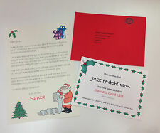 Personalised Letter and Magic Reindeer Food from Santa