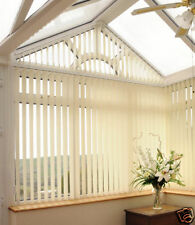 Made to Measure Vertical Blind Blinds Rainforest Fabric + P+P