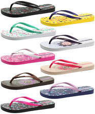 New Ipanema Themes Womens Beach Flip Flops ALL SIZES AND COLOURS