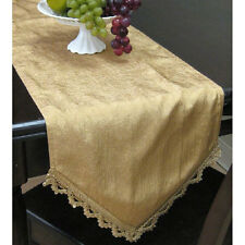 Faux Silk Table Runner