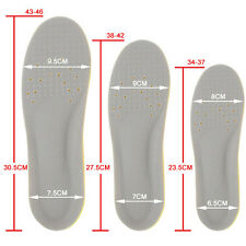 Memory Foam Orthotics orthopedic Arch Supports Sport Athletic Shoe Insoles Pads