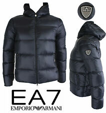 Emporio Armani EA7 Mens Down Jacket blue 271214 new collection winter 2015
