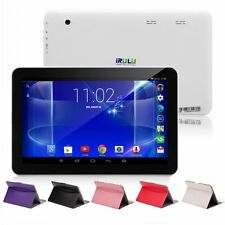 """iRulu Tablet PC eXpro X1s 10.1"""" Android 4.4 Kitkat Quad Core HDMI16GB w/ Cases"""