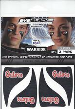 FLORIDA GATORS FAN EYE BLACK NEW PATCHES PEEL N STICK 2 PAIR 5 DIFF STYLE TYPES