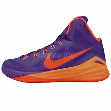 Nike Hyperdunk 2014 Purple Orange 2014 Mens Basketball Shoes Paul George