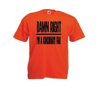 Cincinnati Damn Right Show Your City Pride Ohio Funny Shirt