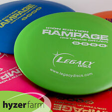 Legacy ICON RAMPAGE *choose your weight & color* disc golf driver Hyzer Farm