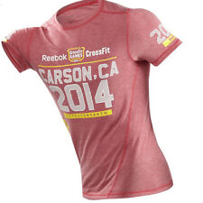 NEW Reebok CrossFit Games 2014 Carson CA Men's Limited Edition Red T-Shirt
