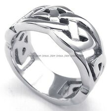Jewelry Men's 316L Stainless Steel Titanium THOR'S HAMMER Casted Ring M072749