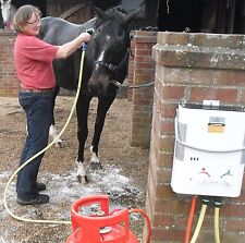Portable Horse Shower from Showerking; Hot Water for Horses; Eccotemp L5 UK
