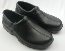 Men's SLIPGRIPS SG1210 Clog Slip Resistant Black Non-Safety Toe Work Shoes