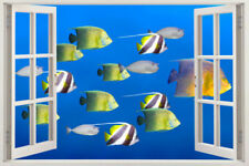 WINDOW Wall Fish Decal Sticker Decor Stickers Sea Vinyl Kids Removable Art Ocean