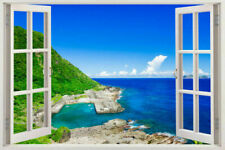 Giant 3D Window View Removable Wall Art Stickers Vinyl Decal Decor Mural 2015