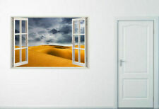 Removable Vinyl Home Decal Decor 3D Window View Design Stickers for Wall Art