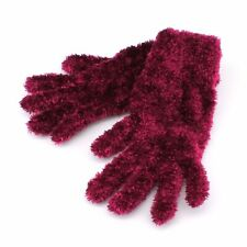 Croft & Barrow Feather Chenille Gloves for Women One Size - Cold Weather Winter