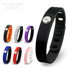 New Colors Power Ionics 4in1  Titanium/ion/Ge/F.I.R Sports Bracelet Balance Band