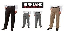 MENS ITALIAN WOOL DRESS PANTS by KIRKLAND SIGNATURE, Made in Italy, NEW!