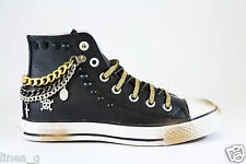 Happiness Shoes sneakers in pelle con catena inverno 2015