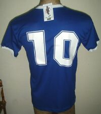 NEW VINTAGE WORLD CUP 1986 ARGENTINA MARADONA #10 RETRO SOCCER JERSEY AWAY SHIRT