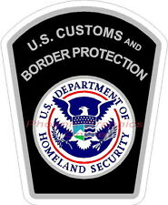 Customs & Border Protection Police Sheriff Military Homeland Security ICE Decal