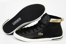 LACOSTE 725SPW40051V7 RAMER HI RUS Black Women's Casual Lifestyle Shoes