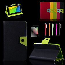 For (2013 version) Google Nexus 7 2nd Tablet slim Folio Leather Case Stand Cover