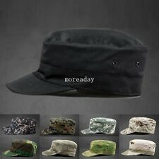 New Camo Camouflage Patrol Castro Hat Military Army Hunting Baseball Cadet Cap